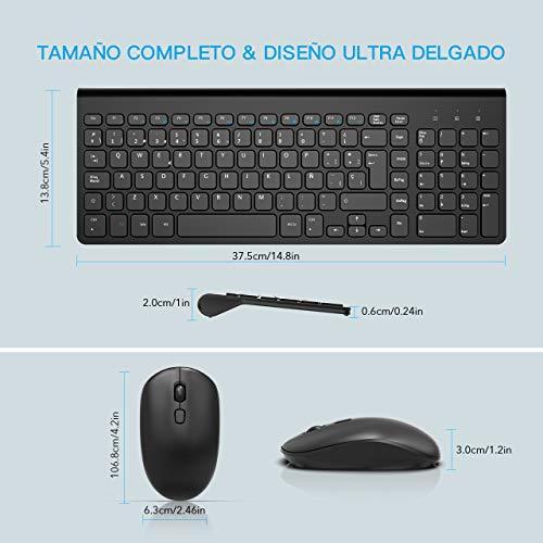 Logitech MK470 UK Teclado Graphite Dise/ño compacto de perfil bajo Funcionamiento ultrasilencioso color Grafito Estilizada combinaci/ón de teclado y rat/ón inal/ámbricos