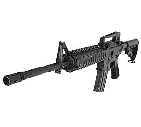 Softair Airsoft AEG DOUBLE EAGLE M4 M83 A1 Carabine Sturmgewehr, max. 0,5 Joule + 1600 BBs Set