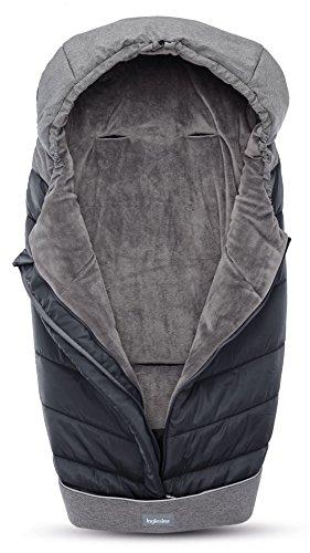 Inglesina A099K2ONB - Saco de Abrigo, Negro/Gris (Onyx Black)