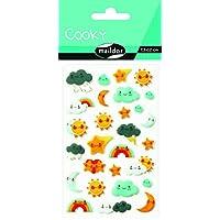 Maildor Cooky Sticker Sheet, Holidays, Weather