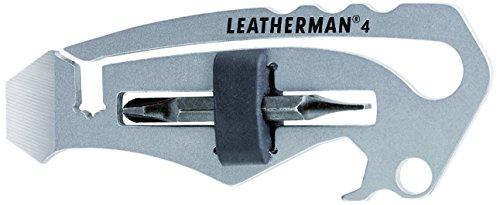 """Leatherman LTN4Schlüsselanhänger/Flaschenöffner Taschenwerkzeug\""""By The Numbers\"""""""
