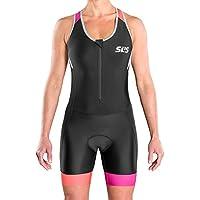 SLS3 Triathlon Einteiler Damen | FRT Trisuit | 2 Taschen | Womens Trisuit | Frontreißverschluss | Frauen Tri Suit