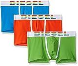 Diesel Herren Boxershorts UMBX-DAMIENTHREEPACK, 3er Pack, Mehrfarbig (Orange/Blue/Green E4198), X-Large
