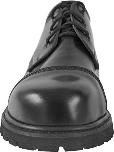 Knightsbridge 20 Trous Gothique Bottes avec embout en acier BOTTES DE COMBAT Chaussures noir différentes tailles Noir