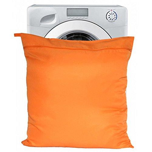 Petwear Wäschebeutel für–Jumbo, orange Wäschebeutel für Haustier- oder Pferdedecken