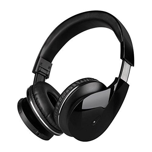 Tv Ohren (Bluetooth Kopfhörer 4.0 Mixcder Drip kabellose Kopfhörer over Ear Stereo Bass wireless Headphones mit Mikrofon, geeignet für Smartphones, PC, Tablet, TV, Laufzeit bis zu 20 Stunden)