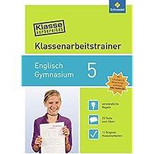 Klasse vorbereitet - Gymnasium: Klassenarbeitstrainer Englisch 5: mit Audio-CD