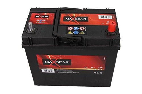 Quality Parts batteria auto 12V 45AH 330a L-238X 129X 227mm Fissaggio Giappone Corea 28800yzzaa 0185754555