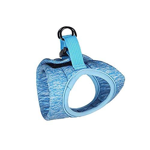 CUTEPET Cane e Gatto Universale Cintura di Sicurezza, con trazione Manica, Anti-Fuga Belt Cat Seat - Regolabile Morbida Rete, Accessori for la Miglior Pet (Size : M)