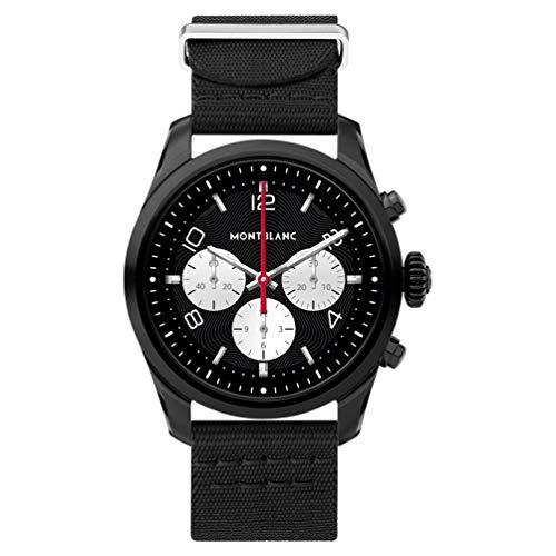 10 - Reloj Montblanc Summit 2 Smartwatch 119560 Acero Negro Nylon Negro
