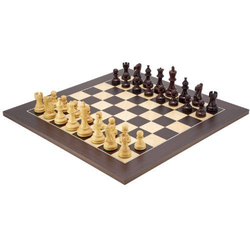 The Regency Chess Company Le Atlantique Bois De Rose Set D'échecs