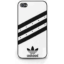 Adidas Logo Sports Brand Collection Funda Case for iPhone 4/iPhone 4S Adidas Logo Sports Brand Fashion Cover