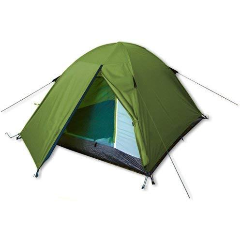 Camping-Zelt für 2-3 Personen - Festival Camp von outdoorer - grün, wasserdicht, das Festivalzelt