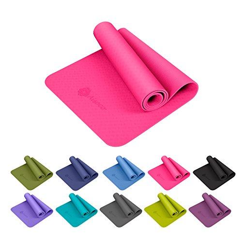 Aisoco Premium TPE Yoga Mat Pilates Mat - Ecológico 16b3827361cd