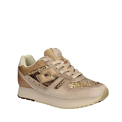 LOTTO TOKYO WEDGE W S8911 ICE/SLV MT sneakers donna Beige