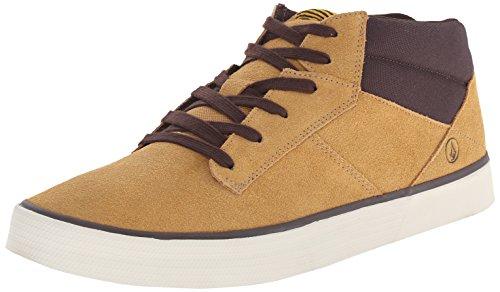 Volcom Grimm Mid 2 Shoe, Sneaker alta uomo, Beige (Beige (Khaki KHA)), 40.5