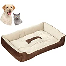 Galaxer Cama para Perros, Perro Gato 70*52cm Mascota Colchón Lavable Almohada Cojín Suave