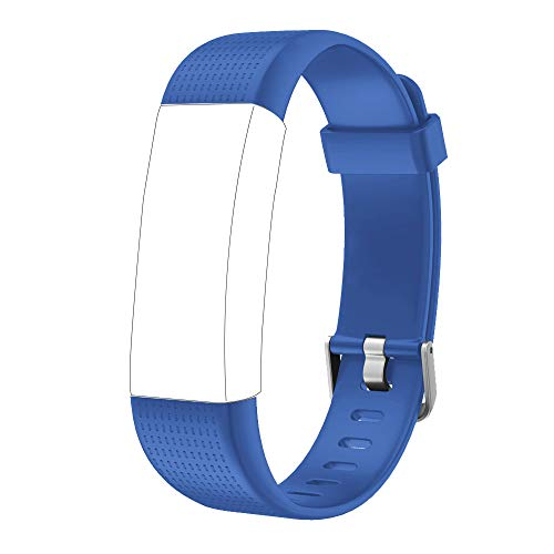 Willful Ersatz Armband für Fitness Tracker ID130Plus Color HR (Blau)