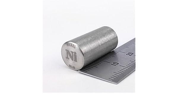 Pure Nickel M/étal Tige 99,95/% 14/grammes 10diameterx20/mm Longueur Element NI Specimen