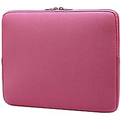 """Housse pour Ordinateur Portable Sacoche pour Ordinateur Portable Sac à Main pour 17"""" ThinkPad, Acer, ASUS, HP, Lenovo und Dell,Pink 1"""