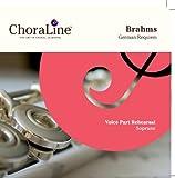 Brahms German Requiem (Ein Deutsches Requiem) SOPRANO Voice Part Rehearsal CD