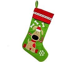 HSDDA - Calcetines de Navidad para Perro, diseño de árbol