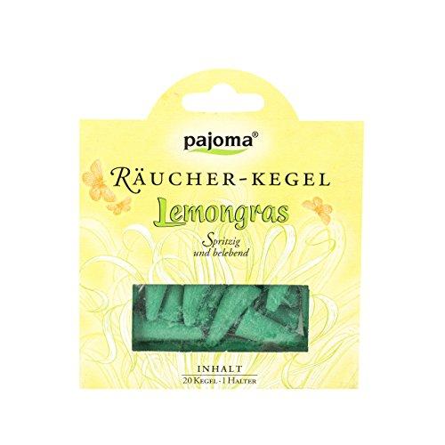 Pajoma 67845 Räucherkerzen - Räucherkegel Lemongras