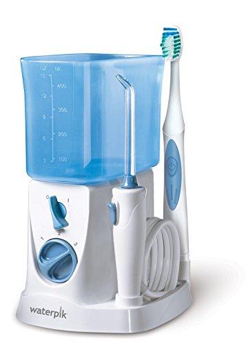 Waterpik WP-700E1 Waterflosser + Sonic Toothbrush Munddusche & Schallzahnbürste Set Reinigungssystem elektrische Zahnbürste