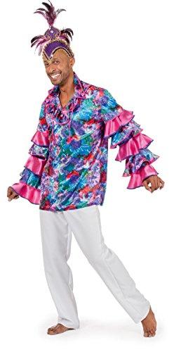 Herren Kostüm Karibik Samba Tänzer Karneval Fasching ()