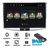 "Autoradio Android 7.1 DAB + (incluso) per Volkswagen VW Passat CC B7 2012 - 2015 10.1"" navigatore satellitare Canbus, pannello IPS, Bluetooth, WiFi, 4G, Multi-Touch Screen, GPS, lettore DVD, AUX."