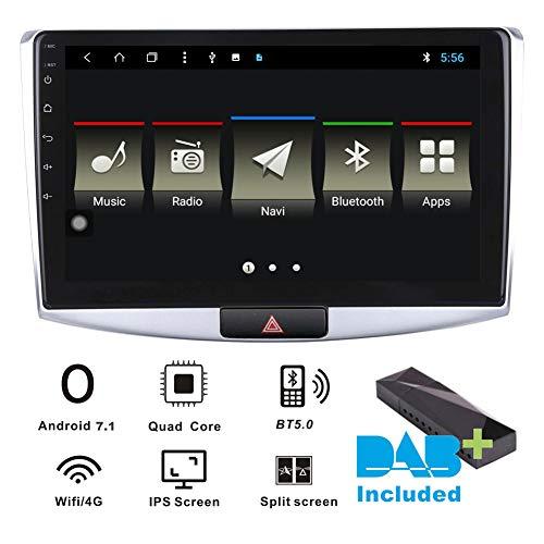 Autoradio Android 7.1 DAB + (incluso) per Volkswagen VW Passat CC B7 2012 - 2015 10.1