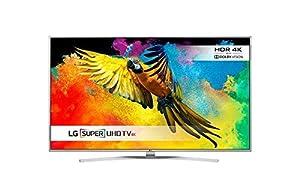 LG 49UH770V 49 inch Super Ultra HD 4K Smart TV webOS (2016 Model) - Silver (Certified Refurbished)