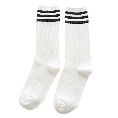 GOTTING Winter Herbst Frauen-Mädchen-Schlauch-Socken Knitting Warm Cotton Socken Elastische Socken (Knöchel-schlauch)