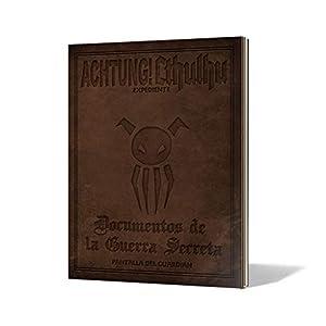 Edge Entertainment Documentos de la Guerra Secreta-Pantalla del guardián-Achtung Cthulhu, Color (EEMOAC03)