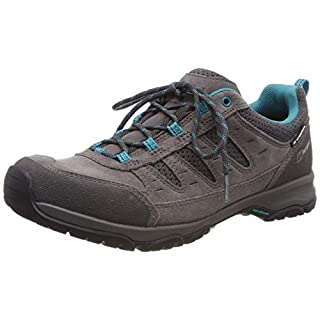 Berghaus Women's Expeditor Active Aq Tech Low Rise Hiking Shoes, Multicolor (Grey/Blue Z72), 5 UK