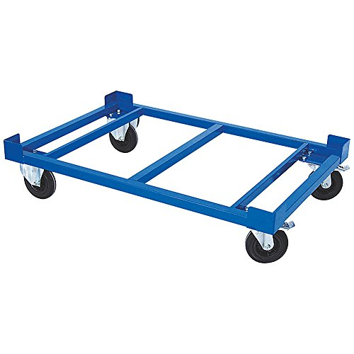 Palettenroller/Paletten-Fahrgestell, LxBxH 1220 x 820 x 275 mm, Tragkraft 500 kg