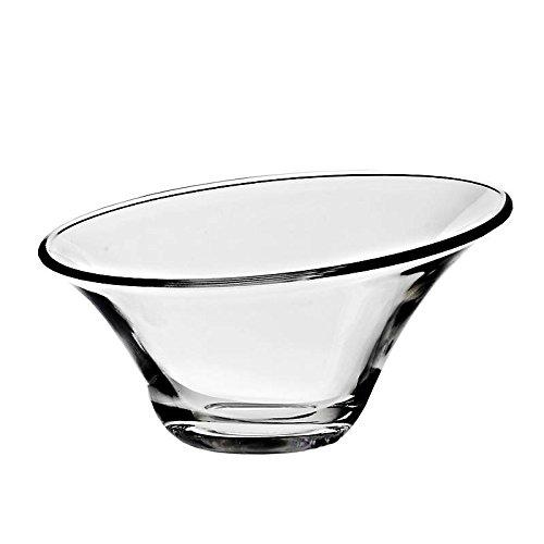 CRISTALICA Pot de Glace, Tasse de Glace, Bol à Glace Alfa Transparent, 250 ML (Gelato Vero Powered by