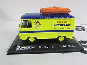 """Voitures miniature Peugeot J7 Michelin """"jeu de plage"""". - Multicolore"""