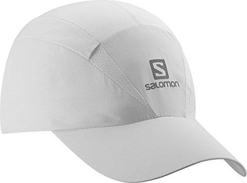 Salomon Gorra Unisex de Malla, Impermeable, XA Cap, Talla Ajustable, L/XL, Blanco, L38005600