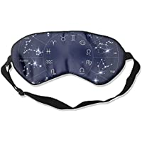 Zodiac Constellation Artistic Illustration Sleep Eyes Masks - Comfortable Sleeping Mask Eye Cover For Travelling... preisvergleich bei billige-tabletten.eu
