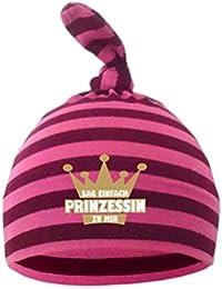 Kleiner Fratz Baby Kinder Zipfel Mütze Jungen Mädchen Babymütze gestreift Hat Sag einfach Prinzessin zu mir