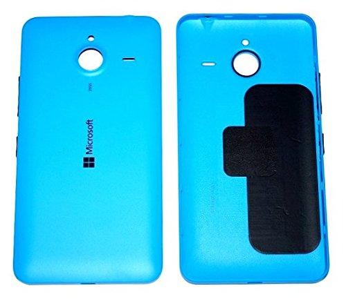 Original Microsoft Akkudeckel blue / blau für Microsoft Lumia 640 XL (Akkufachdeckel, Batterieabdeckung, Rückseite, Back-Cover) - 02510P7