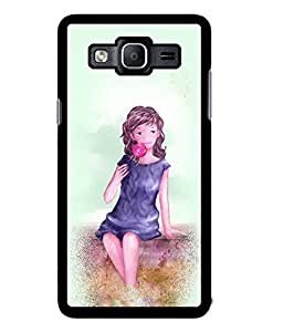Fuson 2D Printed Girly Designer back case cover for Samsung Galaxy On5 - D4587