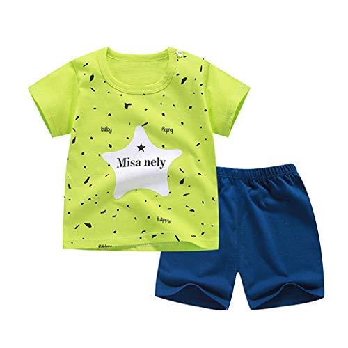 Kinder Unisex Baby Gestreiftes Pullover T-Shirt Tops +Baumwolle Lange Hosen +Kapuzenmantel Sweatjacke, Herbst Winter 3 Stück Bekleidungsset