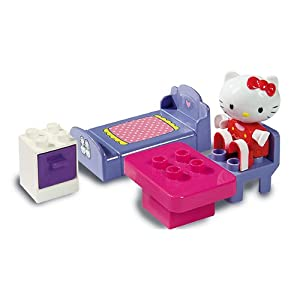 WDK Partner - Juego de bloques para bebé Hello Kitty (A1301826) (Surtido, modelos aleatorios)