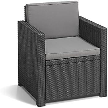 allibert lounge sessel california 2er set mit. Black Bedroom Furniture Sets. Home Design Ideas