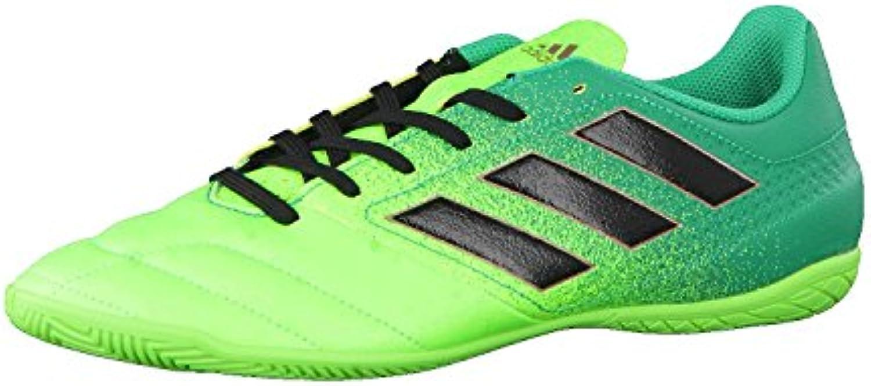 adidas ACE 17.4 IN - Botas de fútbol para Hombre, Verde - (VERSOL/NEGBAS/VERBAS) 42 2/3