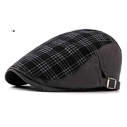 SonMo Unisex Baskenmütze Schlägermütze Barett Sommerhut Cotton Sonnenschutz Hut Outdoor