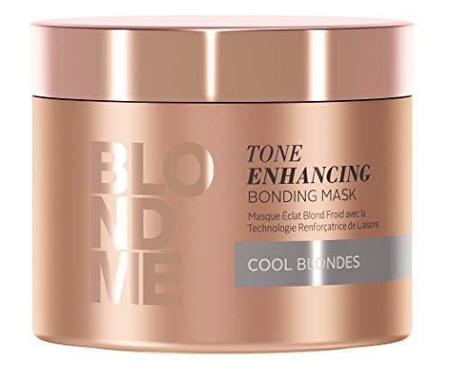 Schwarzkopf Professional BlondMe Tone Enhancing Bonding Mask, 1er Pack (1 x 200 ml) - Color Enhancing Shampoo