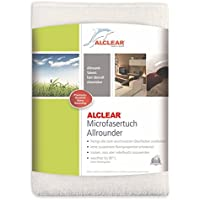 ALCLEAR Ultra-Microfibre Cloth All-Rounders for Almost Every Surface, High Cleaning Power, White preiswert